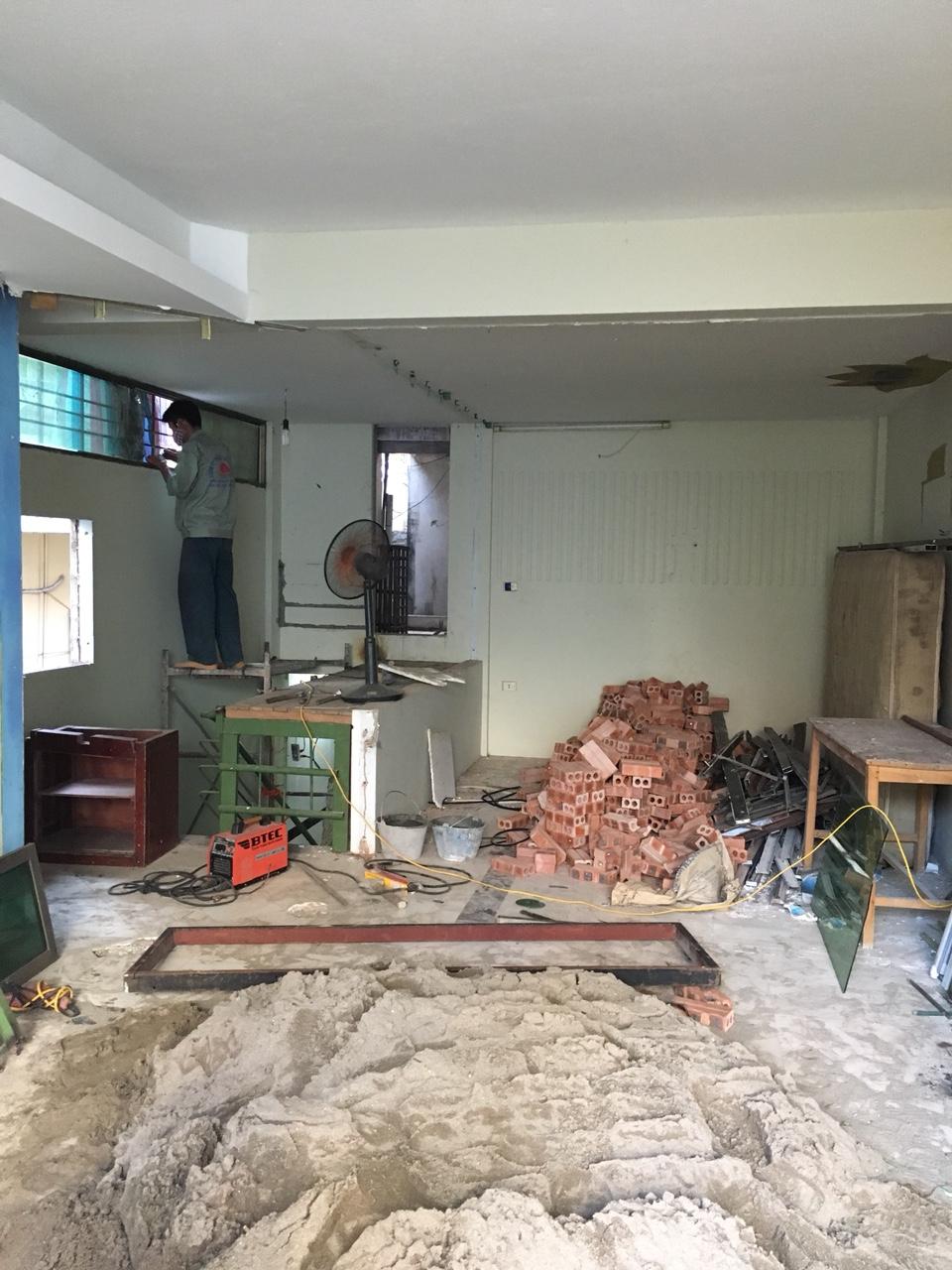 Công trình xây dựng trọn gói gia đình chị Huyền tại Hà Nội-2
