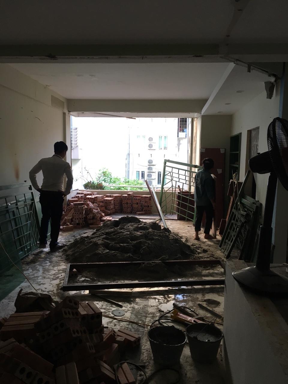 Công trình xây dựng trọn gói gia đình chị Huyền tại Hà Nội-3