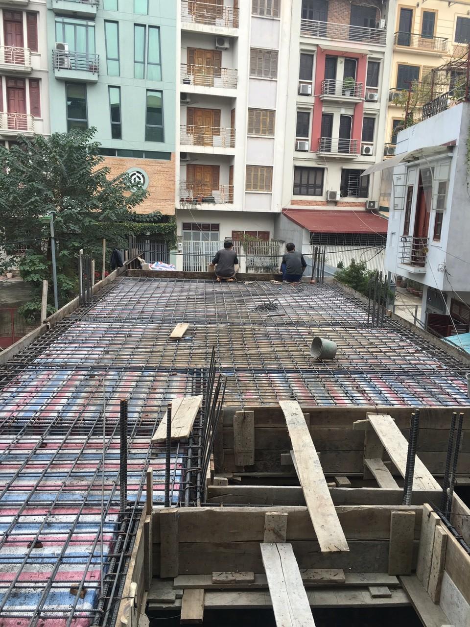 Hoàn thiện xây mới công trình nhà chú Hải tại Lạc Long Quân-3